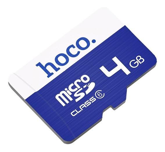 Cartão De Memória Hoco Microsd Tf-4 Classe 6 4gb
