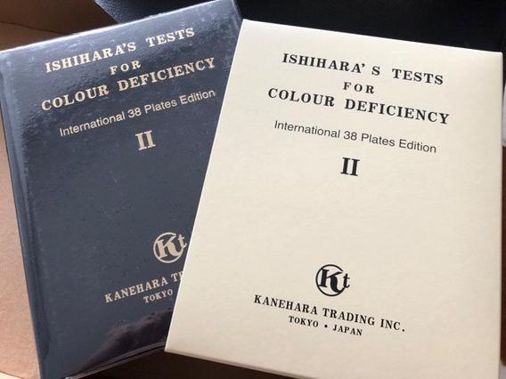 Teste De Visão De Cores Ishihara Exame Original Oftalmologia