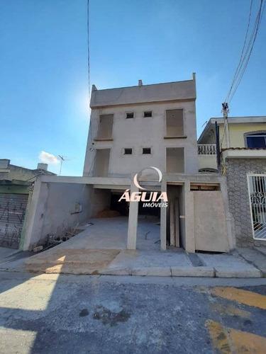 Cobertura Com 2 Dormitórios À Venda, 46 M² Por R$ 355.000,00 - Vila Apiaí - Santo André/sp - Co0793