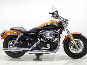 Harley Davidson Xl 1200 Ca 2014 Laranja
