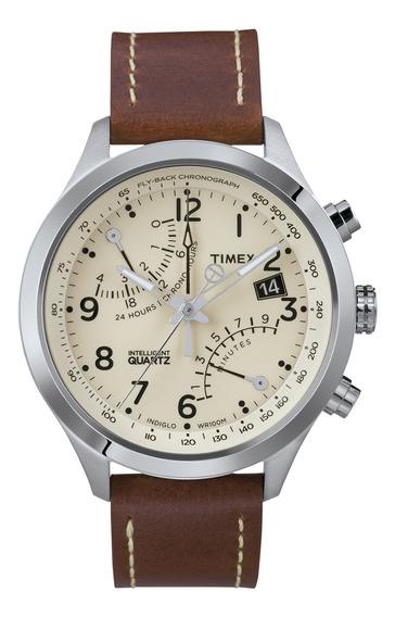 Reloj Timex Hombre Café T2n932