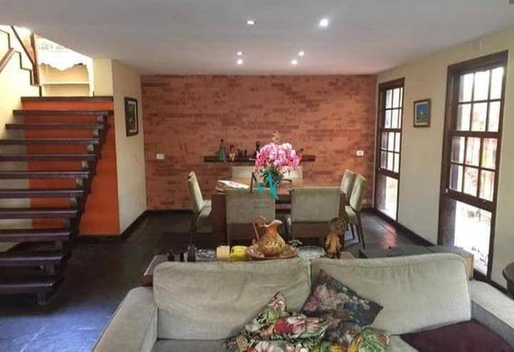 Casa Com 4 Dormitórios À Venda, 356 M² Por R$ 1.800.000,00 - Recreio Dos Bandeirantes - Rio De Janeiro/rj - Ca0486