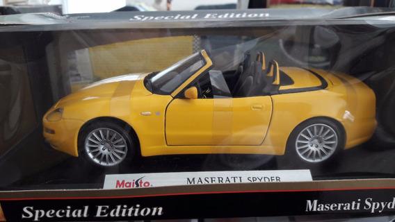 Miniatura De Veículo Maserati Spyder