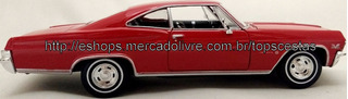 Miniatura Impala Ss 396 1965 Welly Metal Carro Chevrolet