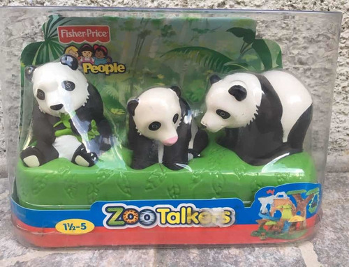 Fisher Price Little People Zoológico Oso Panda Con Sonido