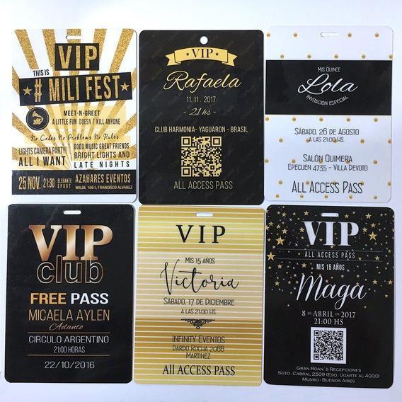 90 Invitaciones Vip