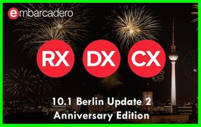 Rad Studio 10.1 Berlin Enterprise Update 2