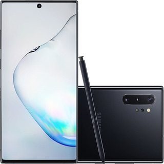 Samsung Galaxy Note 10+ Plus Prata 256gb 12gb Ram Anatel