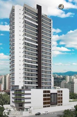 Imagem 1 de 15 de Apartamento Com 2 Dormitórios À Venda, 81 M² Por R$ 480.000,00 - Vila Guilhermina - Praia Grande/sp - Ap1107