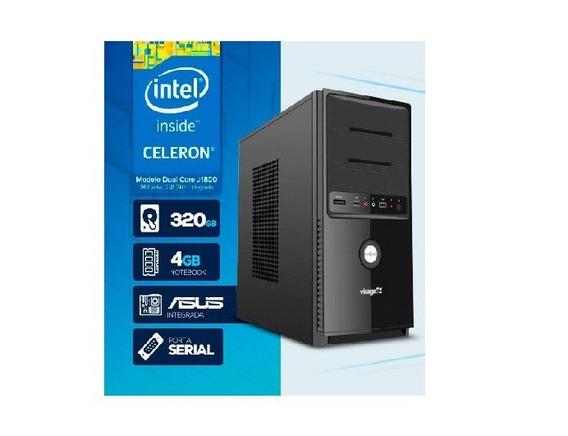 Computador Visage Pc Blanc J1800 Celeron Dual Core #2497
