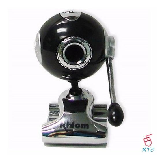 Camara Web Usb Khlom Web Cam 8 Mp Microfono Usb Nuevas
