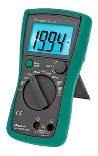 Capacimetro Tester Digital Proskit Mt-5110 Hasta 20000µf