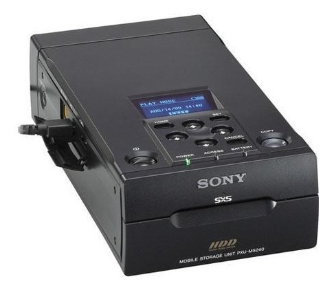 Gravador Sony Pxu Ms240 Para Cartões Sxs