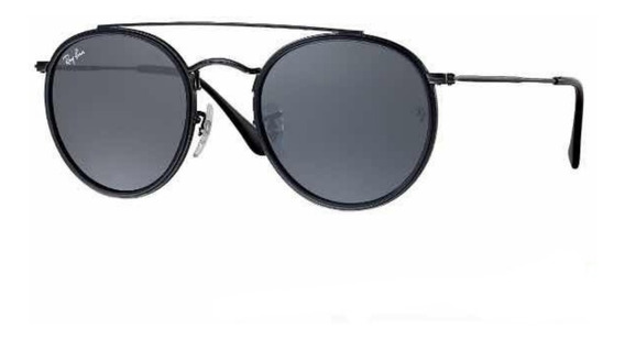 Oculos De Sol Double Bridge Lentes Cristal Unissex Promoção