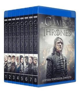 Game Of Thrones - 1° A 8° Temporada Em Bluray