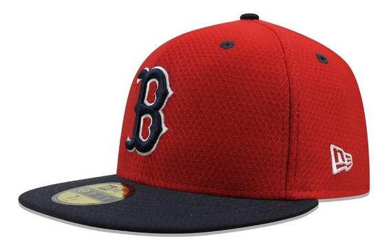 Gorra New Era 59 Fifty Mlb Red Sox Batting Practice Rojo