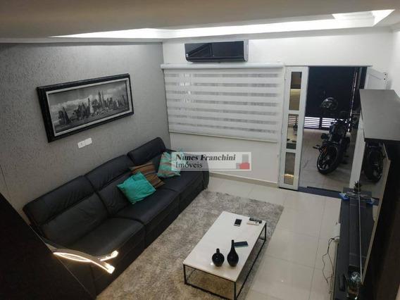 Santana Zn/sp - Sobrado 140 M², 2 Dormitórios , 1 Vaga - R$ 850.000,00 - So1204