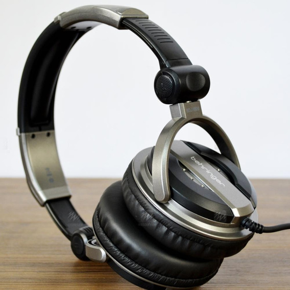 Fone De Ouvido Headphone Behringer Bdj 1000 + Adaptador P10