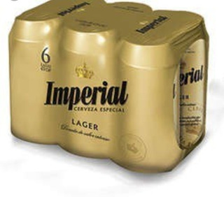Cerveza Imperial 473cc Precio Por Six Pack Super Oferta!!