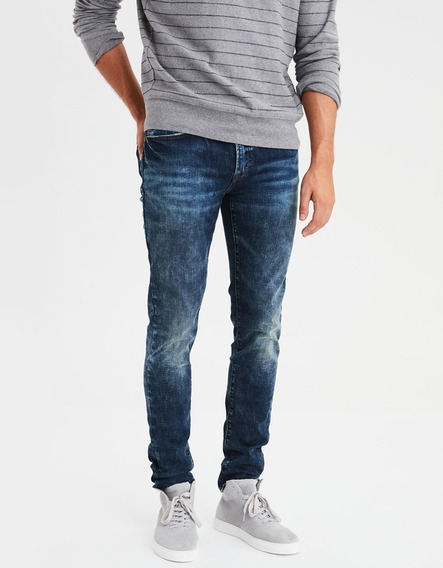 Jeans American Eagle Superceñidos Ne(x)t Level Super Skinny