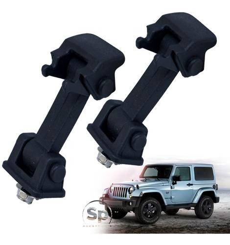 Seguros De Cofre Nylon Jeep Jk 2007/2018 Directos