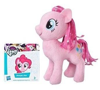 3 X Pelúcia Pequena - 12 Cm - My Little Pony Diversos Hasbro
