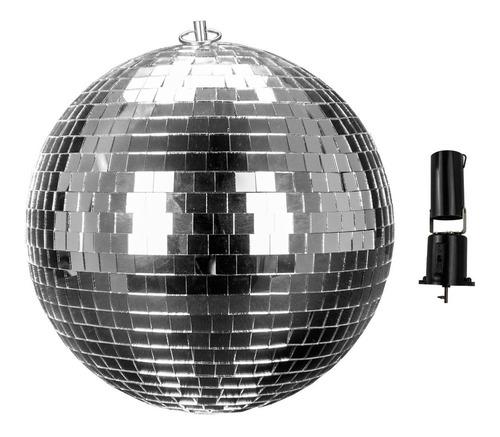 Steelpro - Esfera De Espejos Retro Motorizada 70s - 70mball