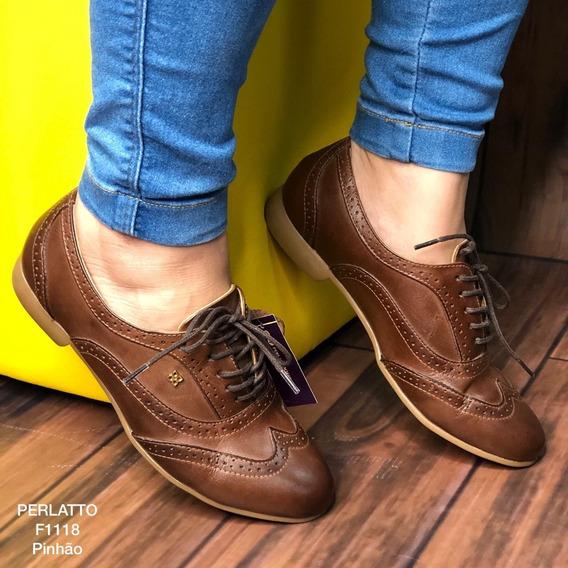 Sapato Oxford Feminino Perlatto