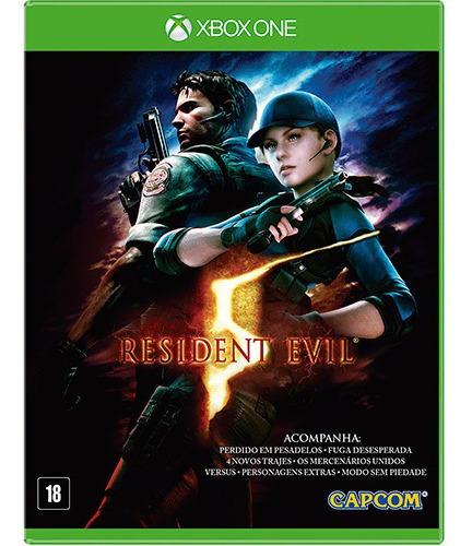 Resident Evil 5 Xbox One Mídia Digital + 1 Jogo Grátis