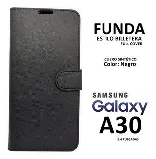 Funda Tipo Billetera Samsung Galaxy A30 Rosario
