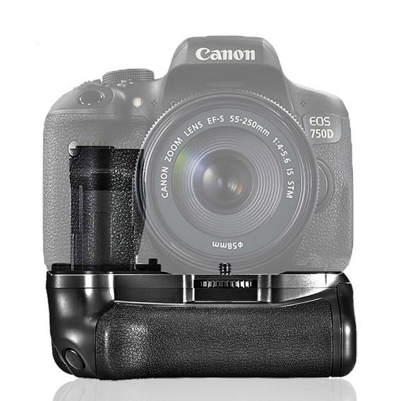 Grip Para Câmera Canon T6i, T6s, 750d, 760d
