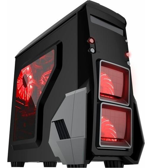 Gabinete Gamer Furioso Cg-0bh6 Usb 3.0 C/ Led - Kmex