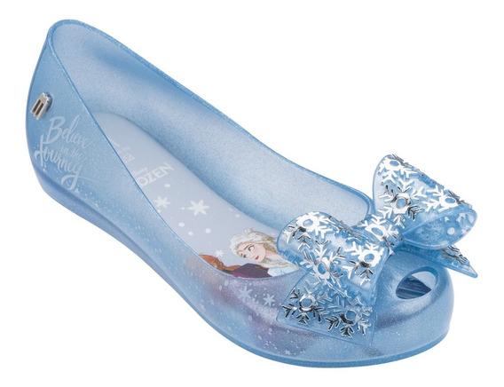 Melissa Mel Ultragirl + Frozen Vidro Perolado Azul