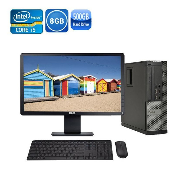Computador Dell 7010 I5 3° Geraç 8gb Hd500gb + Monitor Dell