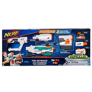 Nerf Modulus Tristrike Con Accesorios