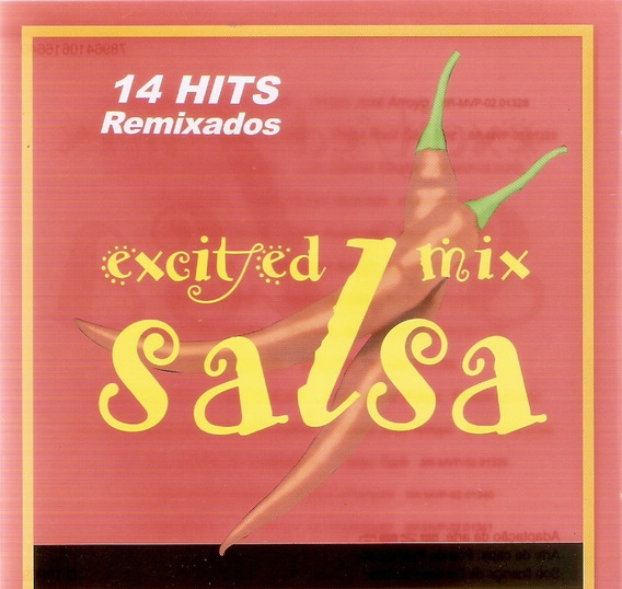 Cd Excited Mix Salsa - 14 Hits Remixados