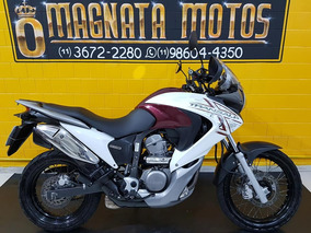 Honda Xl 700 V Transalp Km 37.000 - 2011 - Branco