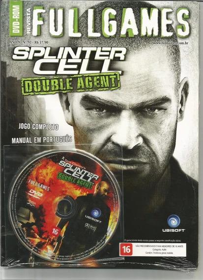 Revista Fullgames: Splinter Cell Double Agent Para Pc