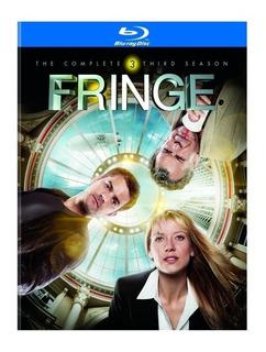 Blu-ray Fringe 3ª Terceira Temporada C/ Luva 4 Discos