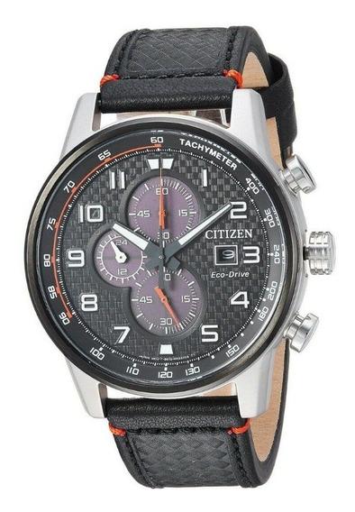 Reloj Citizen Eco-drive Hombre Cronógrafo Ca0681-03e 45 Mm