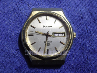 Reloj Bulova Quartz Sin Funcionar