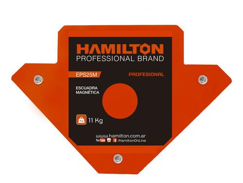 Escuadra Magnetica Soporte P/ Soldar 11,4kg Hamilton Eps25m