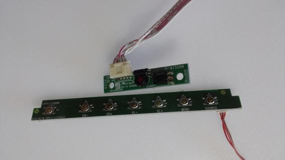 Teclado E Sensor Remoto Philco Ph32n62dg