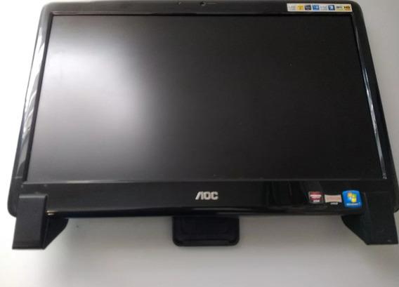 Computador Aoc All In One 20525u Com Amd 2gb 500gb Led 20