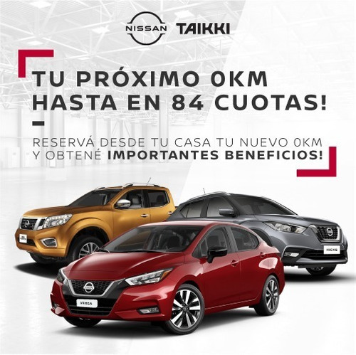 Nuevo Plan Nacional - Nissan Versa Sense 0km - Taikki Autos