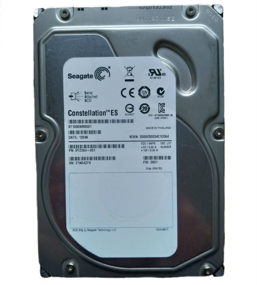 Hd Sas 1tb Seagate Constellation Es St10000nm0001