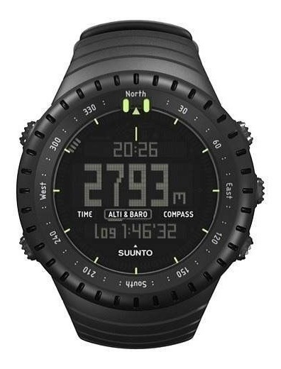 Suunto Core All Black Military Relógio Esportivo Original