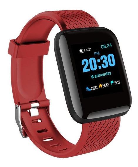 Reloj Inteligente Bakeey D13 Smartwatch - Rojo