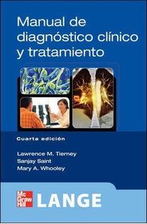 Libro Manual De Diagnóstico Clínico Y Tratamiento (impreso)