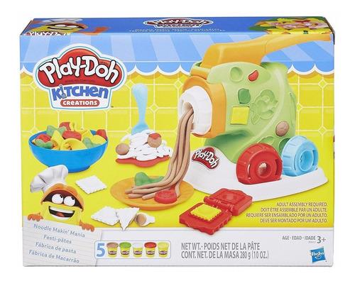 Play-doh Fabrica De Pastas Hasbro B9013 Set Masa Educando